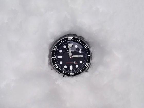 Ve sněhu 1
