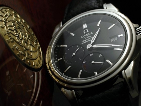 Omega De Ville  Power Reserve Co-Axial