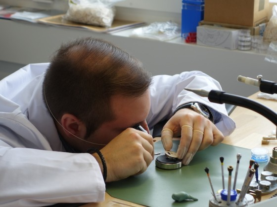 Návšteva Eposu vo Švajčiarsku - výroba hodiniek