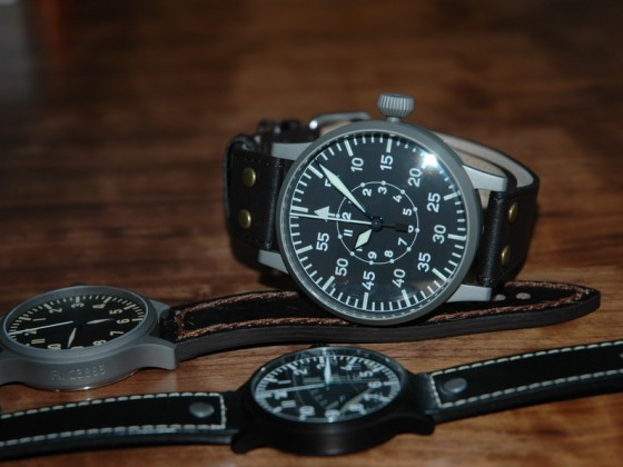 LACO Limited Edition Aviator Observation Watch FL23883