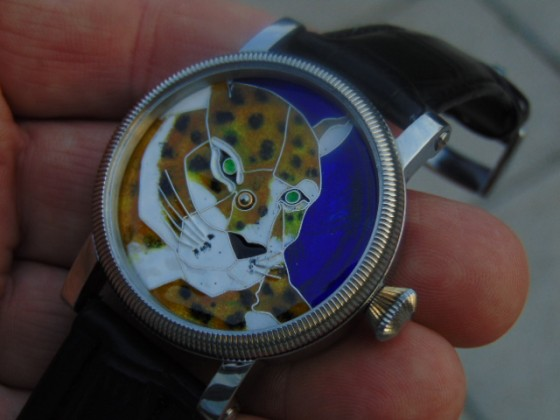 Enamel watch dial. (L/K)