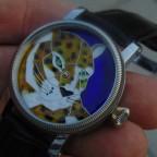 Enamel watch dial. (L/K)