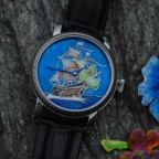 Santa Maria - silver dial watch