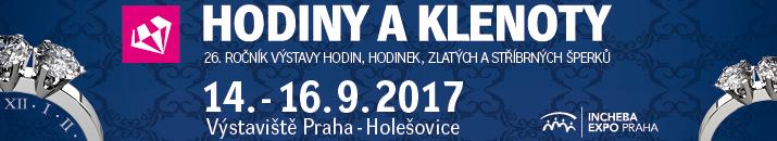 Incheba Praha - Hodinky a klenoty
